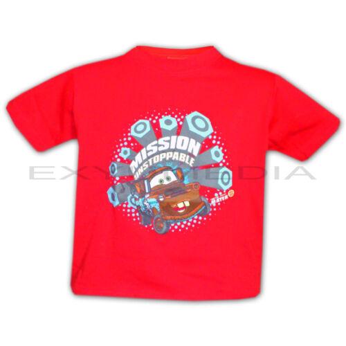Autos T-Shirts DISNEY Pixar CARS Lizenz Jungen T-Shirt 6 Motive Auswahl Auto