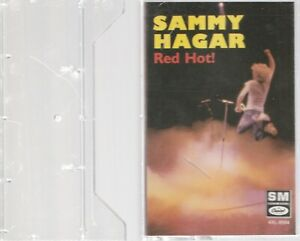 Sammy Hagar Cassette Red Hot! - 1987 Capitol Records NEAR MINT FREE SHIPPING