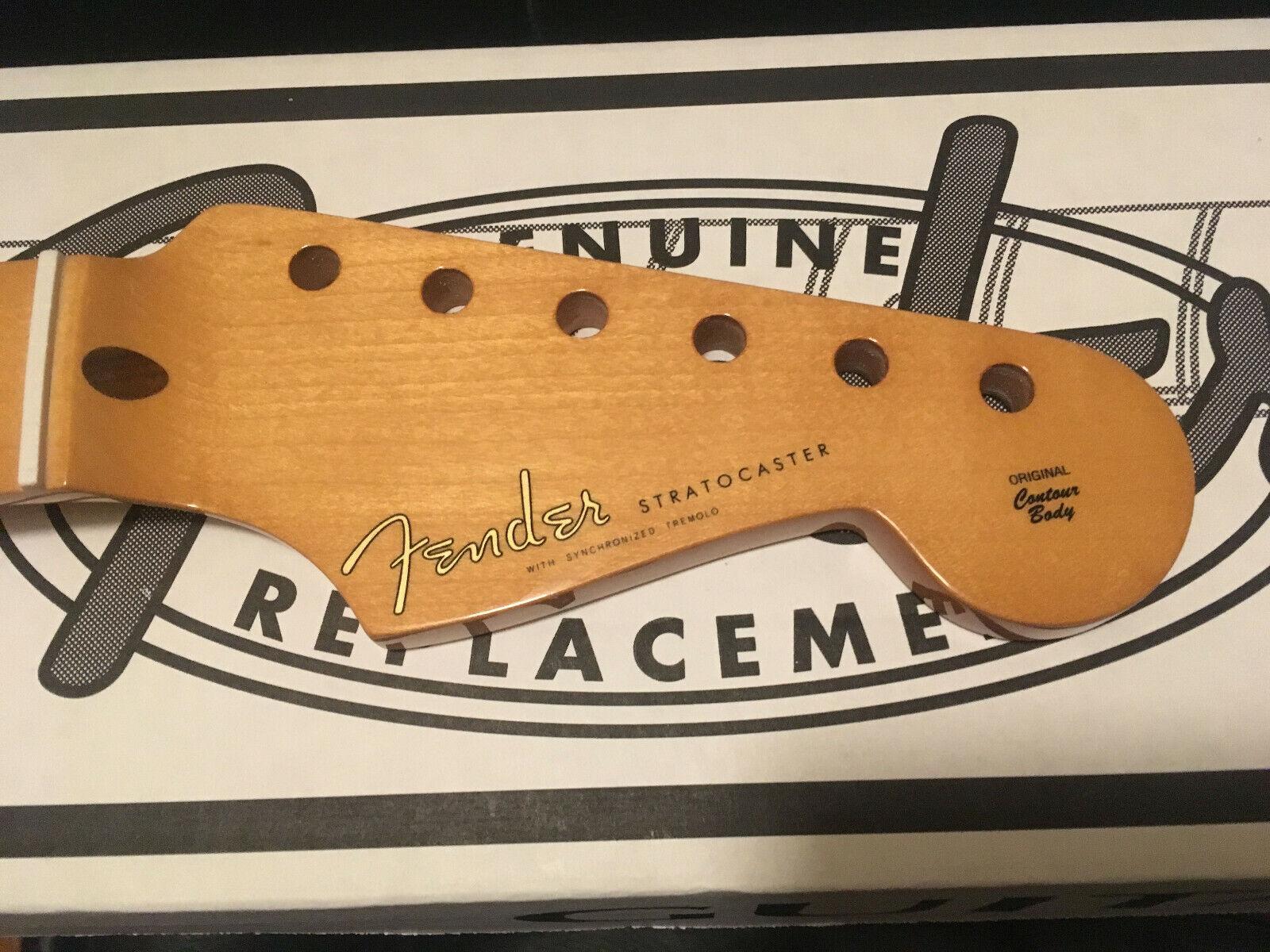 Estilo 50S genuino genuino genuino Fender Stratocaster Guitarra Arce Strat Cuello en V suave 7.25  online barato