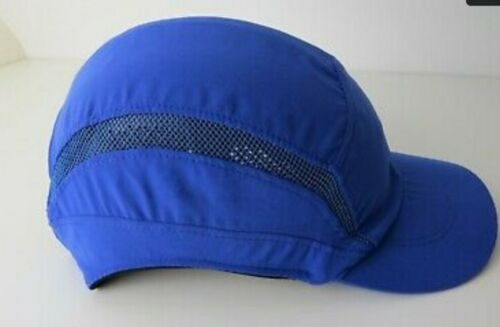 New SCOTT HC24RB First Base 3 Classic Safety Bump Cap Royal Blue-Neuf