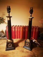 RARE PAIR OF Stunning Vtg Chelsom Lamps