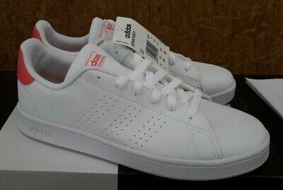 Chaussures femme - Baskets Adidas Advantage K - blanc/rose ...