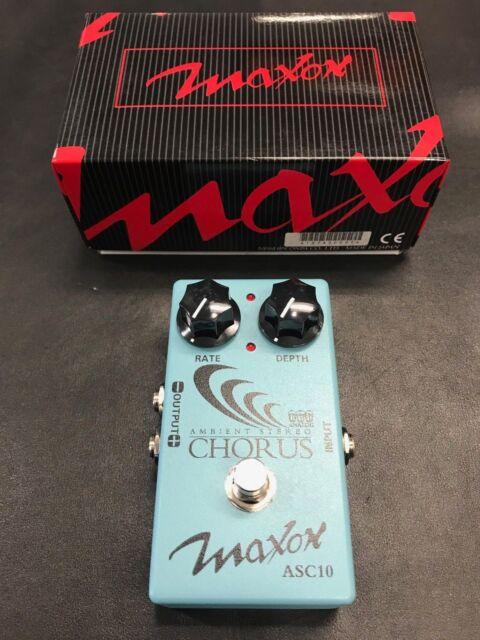 Maxon ASC10 Ambient Stereo Analog Chorus Pedal New!