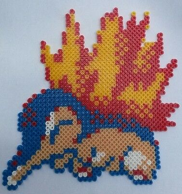 Cyndaquil Pokemon Bead Sprite Perler Pixel Art Perles à Repasser Ebay