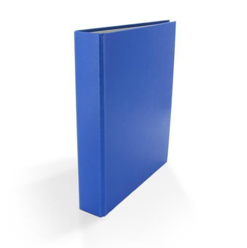 blau 5x Ringbuch 2-Ring Ordner DIN A5 Farbe