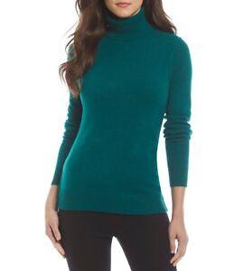 NWT-Cashmere-Womens-Antonio-Melani-Luxury-Collection-Svetlana-Turtle-129-00