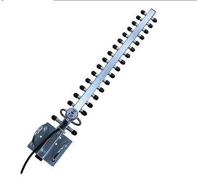 2.4GHz 25dBi RP-SMA Yagi Wireless WLAN WiFi Antenna For Modem PCI Card Router