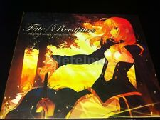 Fate Stay Night Recapture Songs Music Soundtrack CD MIYA Records OST