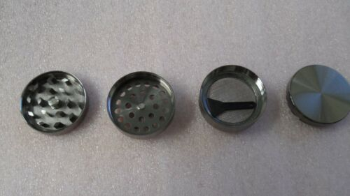 4 Piece Magnetic 1.5 Inch  Spice Herb Grinder With Scoop