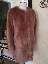 ASOS Faux Fur Coat Size 6