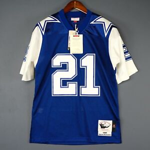 c313c3ff062 100% Authentic Deion Sanders 95 Cowboys Mitchell & Ness NFL Jersey ...