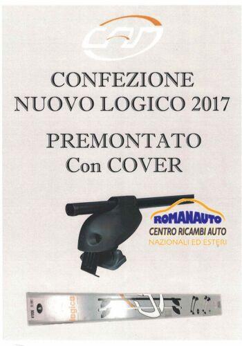 Barre PORTATUTTO CAM LOGICO FIAT Grande Punto 5 porte Portapacchi premontato