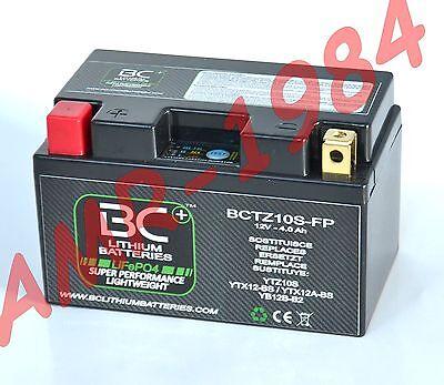 BATTERIA MOTO BC LITIO BCTZ10 FP  LITHIUM = YUASA YTZ10S  = YTX12-BS = YTX12A-BS
