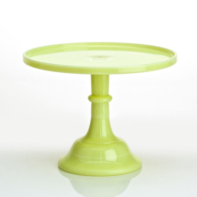 Mosser Glass: Cake Plate, Butter Cream