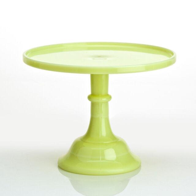 Mosser Glass: Cake Plate, Butter Cream