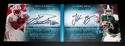 #(10/75) Rc Auto Le Veon Le' Veon Bell Montee Ball 2013 Rookie Signed Autograph