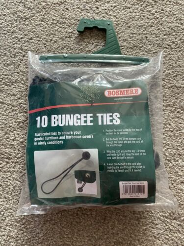 pack de 10 A510-vente!!! noir Brand New Bosmere meubles Housse élastique Cravates