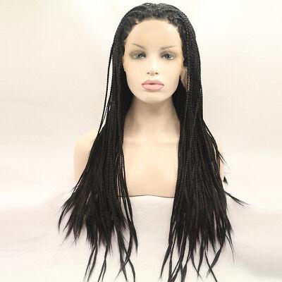 CHEAP wig long Afro curly Crochet cornrows Women's hair ...
