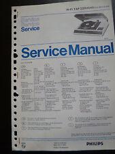 Original Service Manual  Philips  Hifi TAP 22RH845