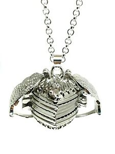 Angel-Wing-Heart-Photo-Pendant-Expanding-5-Picture-Locket-24-034-Necklace-Silver-UK