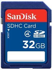 SanDisk 32GB SDHC Class 4 C4 SD 32G Camera Flash card  for cam SDSDB-032G *retai
