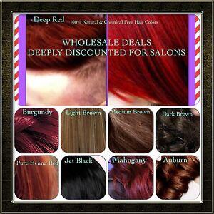 Organic Henna Hair Dye Color For Men Women 100 Chemical Free
