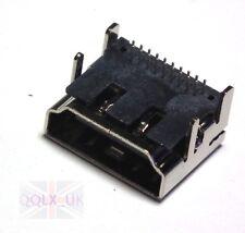19Pins HDMI Socket Panel Female 90° DIP 2 Row PCB Soldering Connectors 4 Legs