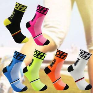 1 pair Men Women Sports Socks Breathable Bicycle Cycling Running Footwear Socks