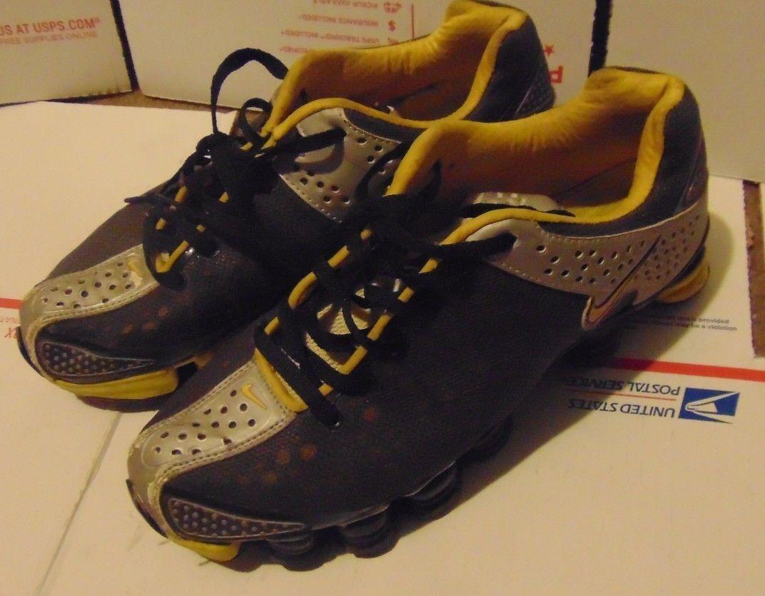 chaussures chaussures nike de taille 10 Jaune  Noir /  Gris  / Noir Argent  gaufre gap 35d8a4