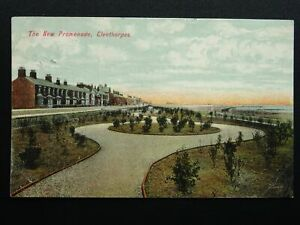 Lincolnshire-CLEETHORPES-The-New-Promenade-c1906-Postcard