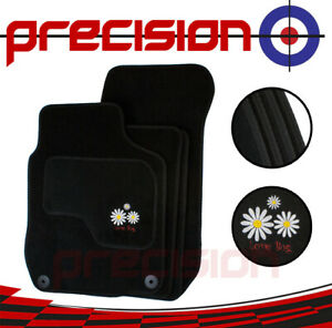 VW-Volkswagen-Beetle-1999-2012-Fitted-Tailored-Car-Mats-Daisy-Logo