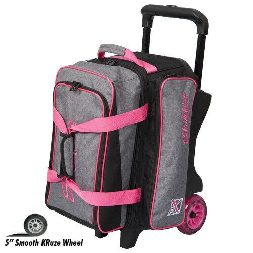KR Strikeforce KRush Stone Pink 2 Ball Roller Bowling Bag