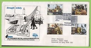Conjunto-De-Pesca-Graham-Brown-1981-sobre-Oficial-Primer-Dia-Cubierta-F-M-A-Bocina