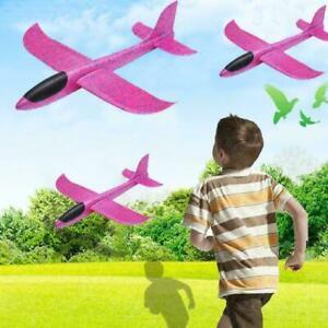 Kid-DIY-Handstart-Werfen-Segelflugzeug-Flugzeug-Schaum-Nett-Flugze-EPP-Flug-O7R3