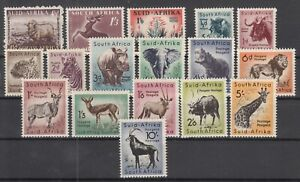 Z4681-BRITISH-SOUTH-AFRICA-Y-amp-T-196-198-201-214-COMPLETE-MINT-MNH