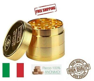 Super Grinder Tritatabacco in Plastica 5 Parti Trincia Tabacco Pollinator