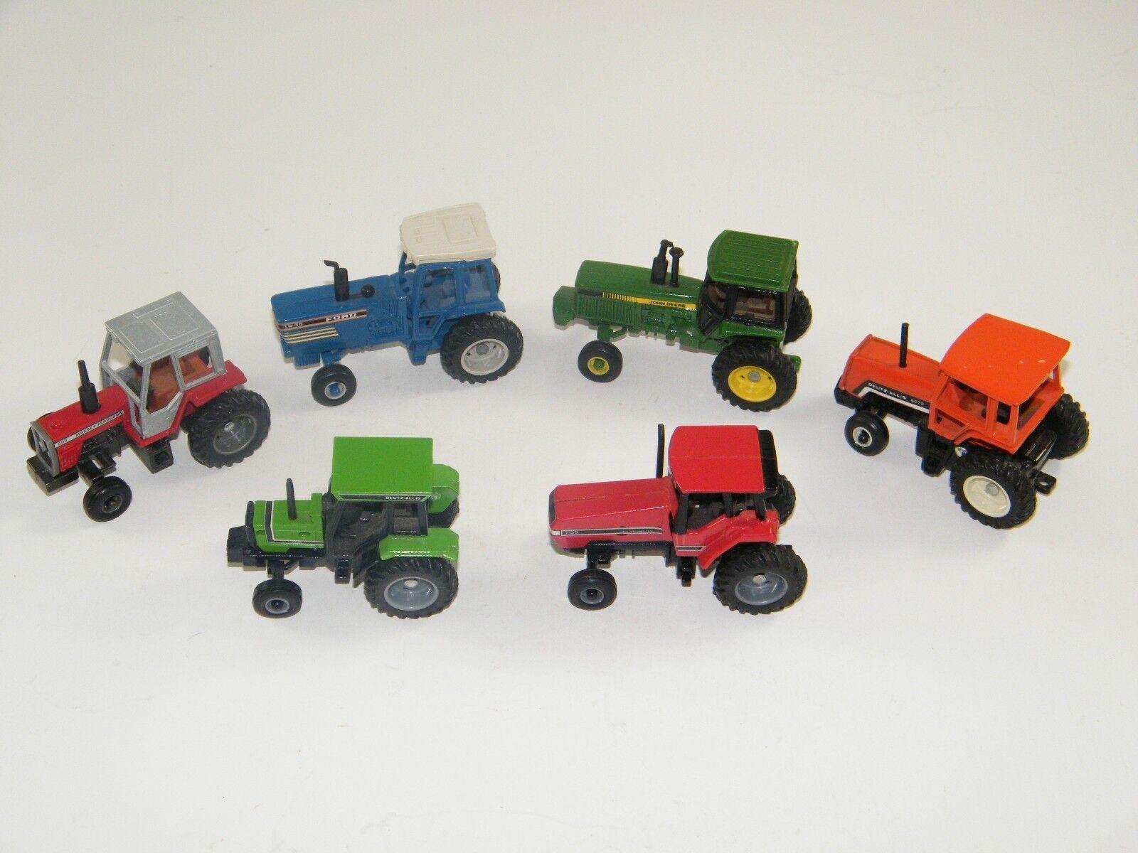(6) Vintage Ertl 1 64 Tractores Deutz-Allis Deere, Case, Ford, Massey, Ferguson
