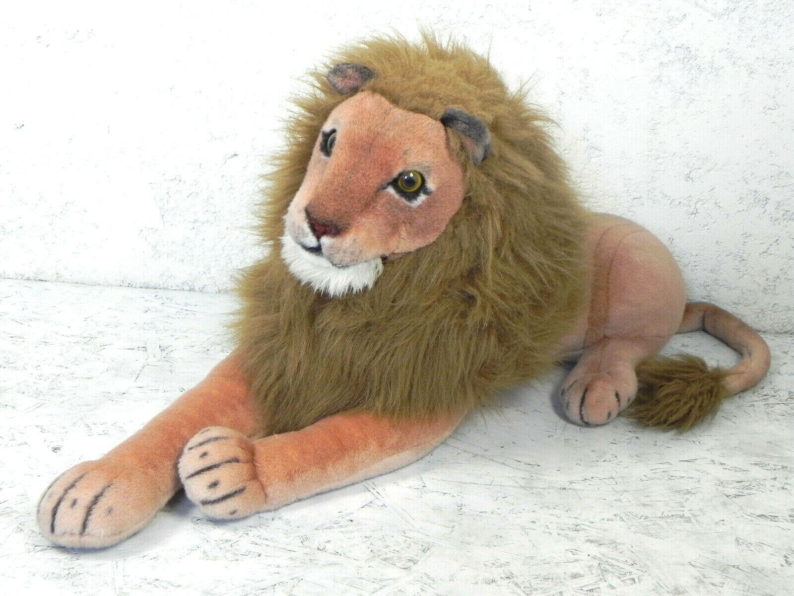 Peluche Realistico Leone Pupazzo Grande Leoncino Lion Gigante Animale