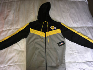 Los Angeles Lakers Adult Zip Up Hoodie Sweater Size Small 190498765083 Ebay