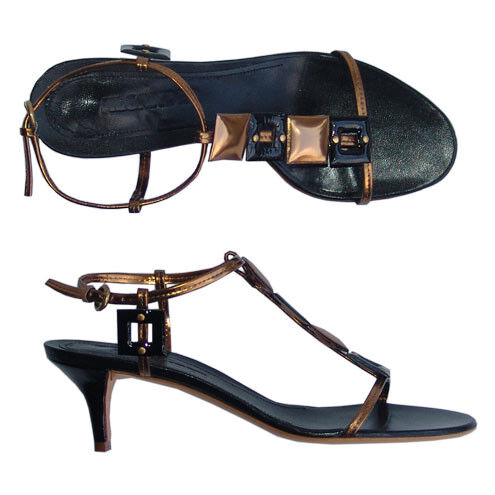 JIL SANDER createur Cuir Elegant NOUVEAU Escarpins Chaussures Noir 37,5 NOUVEAU Elegant 2e1e4e