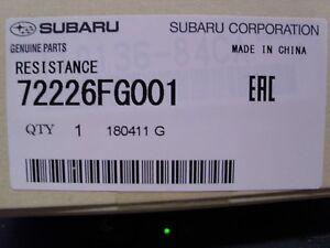 SUBARU OEM 09-16 Forester 2.5L-H4 Blower Motor-Resistor 72226FG001