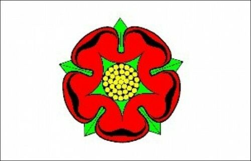 LANCASHIRE OLD 5ft X 3ft Flag 75denier with eyelets suitable for Flagpoles