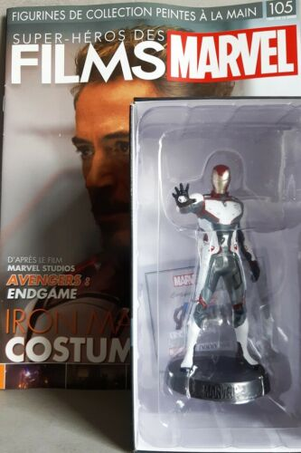 MARVEL MOVIE COLLECTION #105 IRON MAN TEAM SUIT FIGURINE Avengers: Endgame FRN