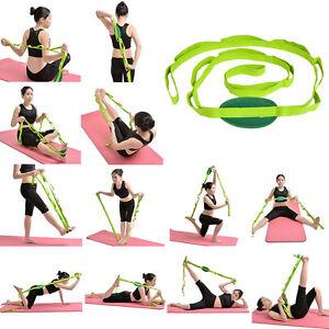 Image Is Loading Restore Multi Grip Flexibility Stretch Strap Yoga Stretching