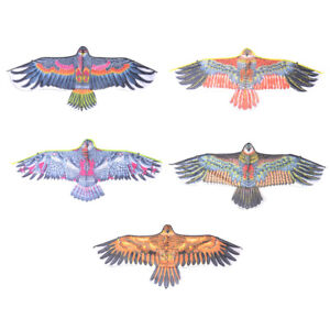 Eagle-Kite-Single-Line-Novelty-Animal-Kites-Children-039-s-Outdoor-Toy-Huge-1-1m-Sq