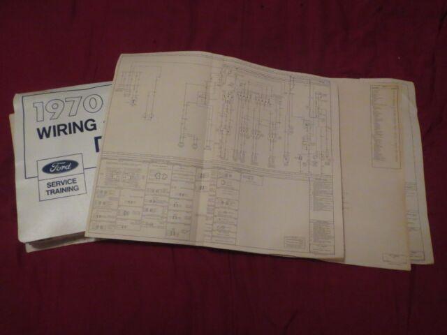 1970 Ford Mustang Mach 1 Grande Mercury Cougar Wiring