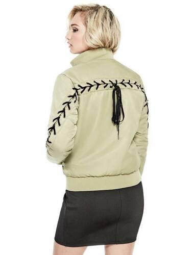 Luke Bomber Black Up Gæt 5 S Green 4 Jacket Sporty Olive Lace 6wxgg1p