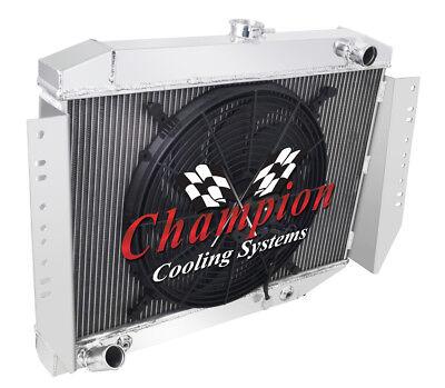 1972-1979 Jeep Cherokee Champion Aluminum 3 Row Champion Radiator