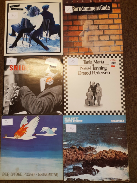 LP, Various, Rock, LP samling sælges, Beatles, Pink Floyd,…