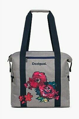 Reliable Desigual Sport Tasche *bols_back Pack Night Garden* Rojo Abril Exquisite Craftsmanship; Women's Clothing